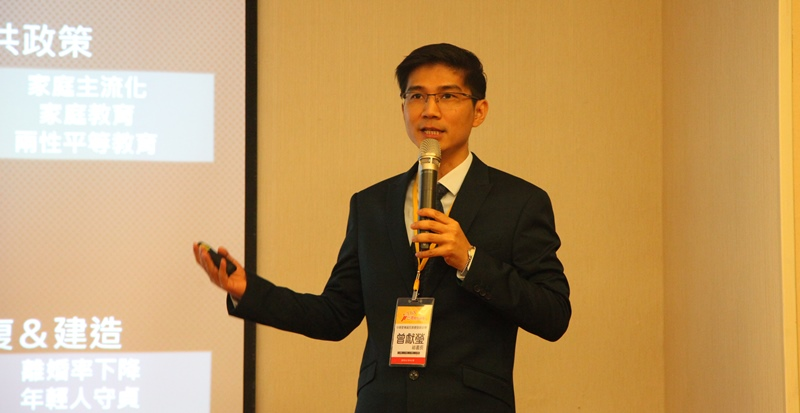 公投提案通過後,旋即進入關鍵的第二階段連署,曾獻瑩呼籲教會要團結動員。