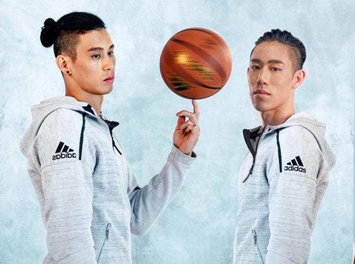 林書豪一家感情好,弟弟林書緯(圖右)自2015年8月始,效力於SBL富邦勇士籃球隊,主要位置是控球後衛。