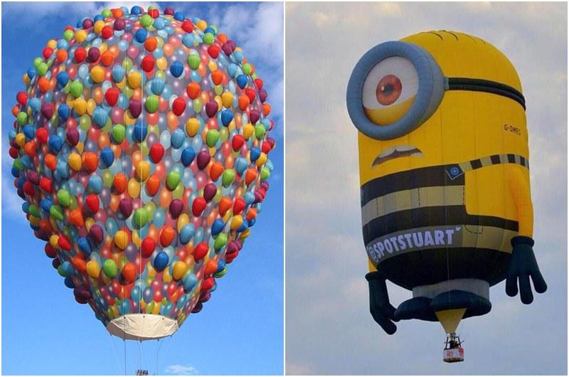 造型球天外奇蹟(左)和小小兵(右),已引起高詢問度。