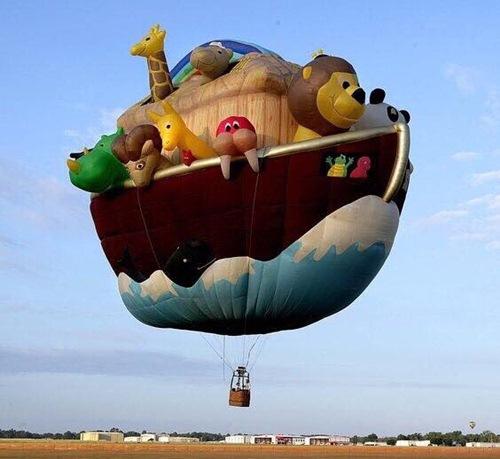 挪亞方舟球。挪亞方舟是《聖經》創世記中的歷史記載。