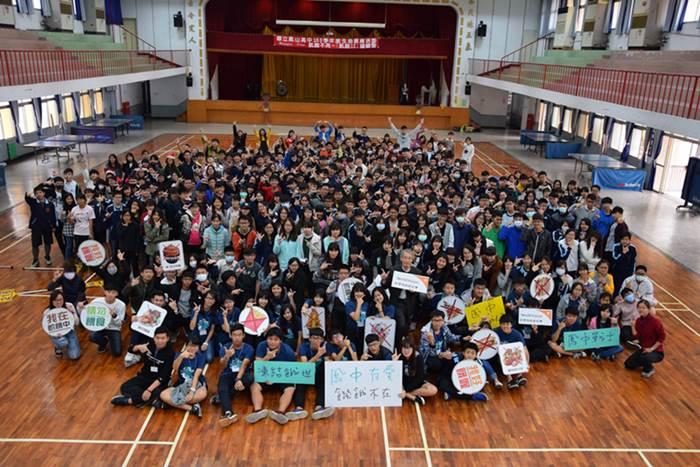 鳳山高中第七屆飢餓體驗活動。