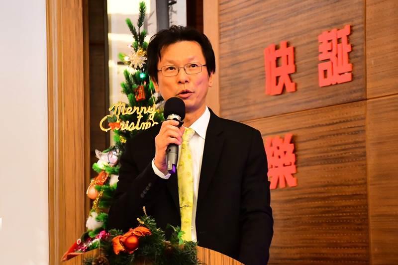 花蓮慈濟醫院小兒科主任醫師、恩多社負責人朱家祥。