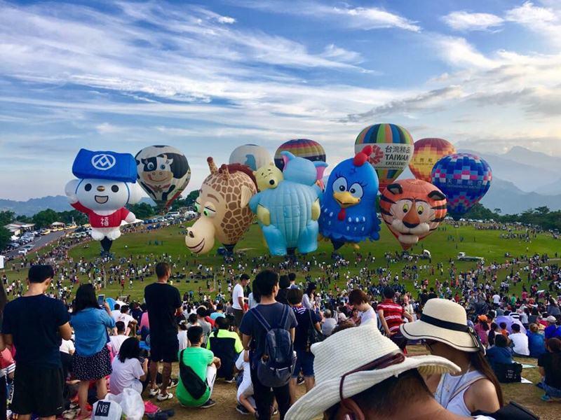 每年冉冉升空的熱氣球,過去7年,吸逾4百萬人次,創觀光熱。
