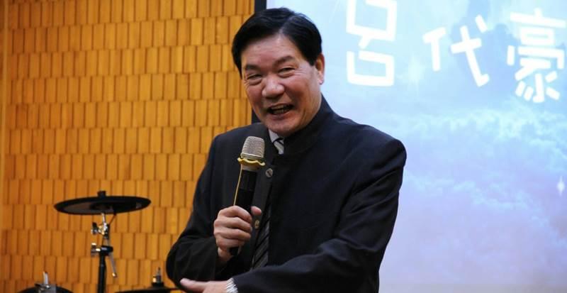 淡水基督教會主任牧師呂代豪牧師。