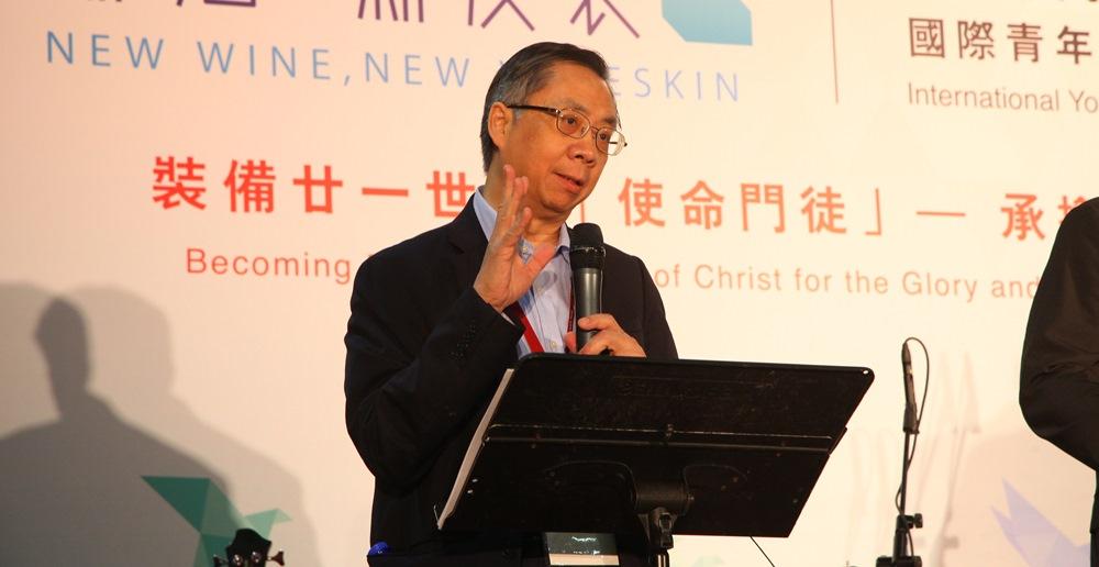 20日早會信息,由「海外基督使團」國際總主任馮浩鎏牧師主講,同時是醫生的他,在巴基斯坦宣教多年。
