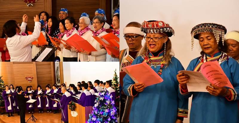 共有7間教會,用八種語言唱詩讚美。