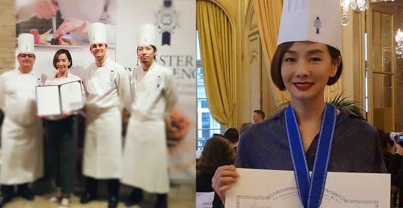 Mo姐除了是出色的演員,更曾遠赴法國修讀藍帶廚藝課程並畢業。