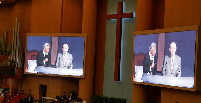 第三十屆訪韓聖會的第一堂信息,由汝矣島純福音教會創會牧師趙鏞基分享。